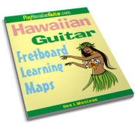 Hawaiian Guitar Fretboard Learning Maps - by Don J MacLean