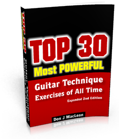 Top 30 Most Powerful Guitar Technique Exercises of All Time