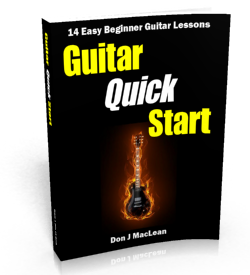 Guitar Quick Start: 14 Easy Beginner Guitar Lessons