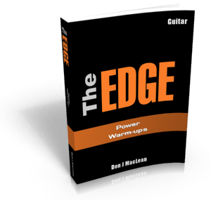 The EDGE: Power Warm-ups Guitar Course