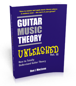 Guitar Music Theory Unleashed Volume 2