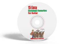 15 Easy Christmas Favourites for Guitar: With Only 3 Chords CD