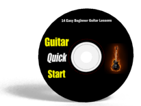 Guitar Quick Start: 14 Easy Beginner Guitar Lessons CD