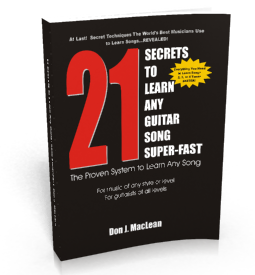 Learn guitar songs fast - 21 Secrets to Learn Any Guitar Song Super-Fast