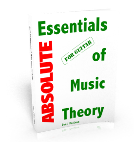 Learn Guitar Music Theory Fast - Absolute Essentials of Music Theory for Guitar