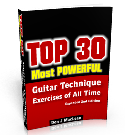 Top 30 Most Powerful Guitar Technique Exercises of All Time...Revealed