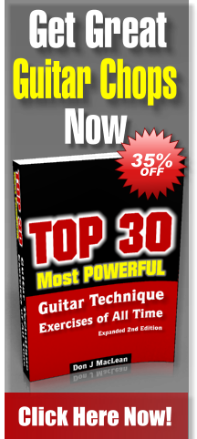 The Top 30 Most Powerful Guitar Technique Exercises of All Time