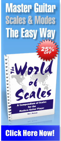 The World of Scale: A Compendium of Scales for the Modern Guitar Player